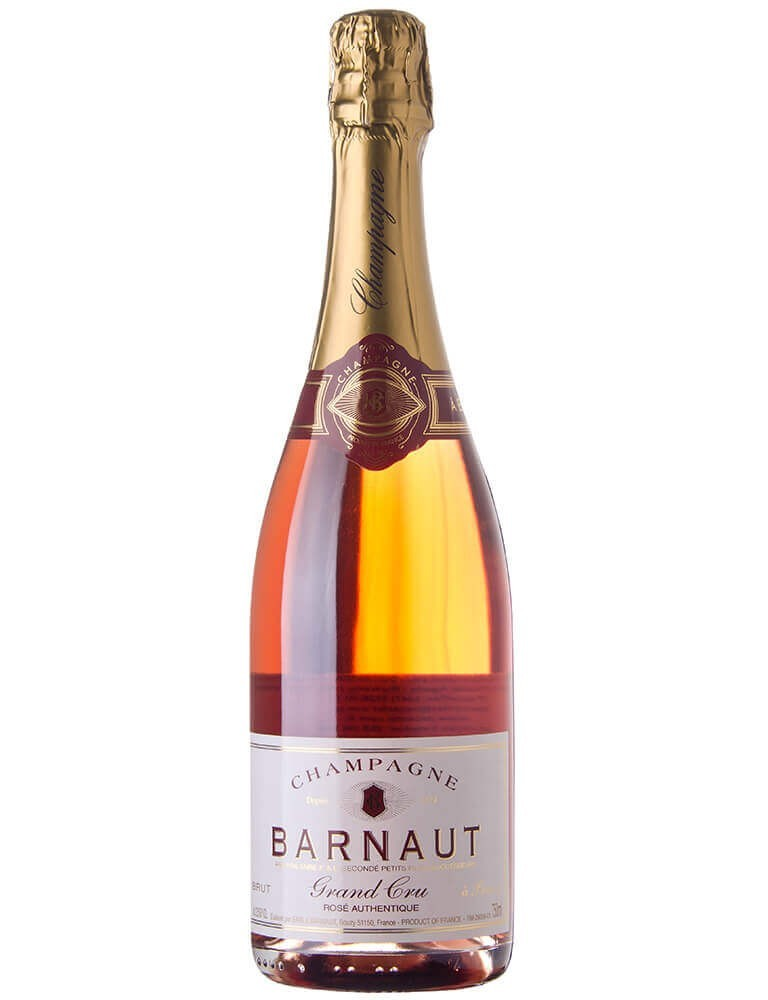 Champagne Barnaut Authentique Rosé Brut Grand Cru (750ml)