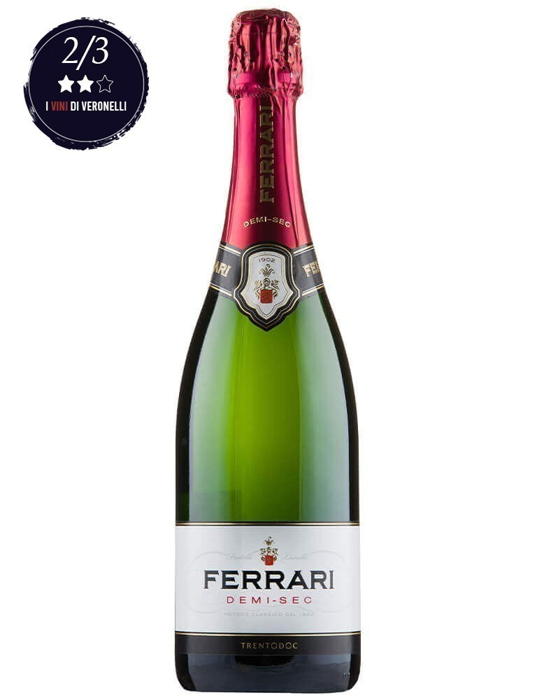 Espumante Ferrari Demi Séc (750ml)